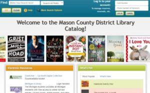 Account Login & Search – Mason County District Library