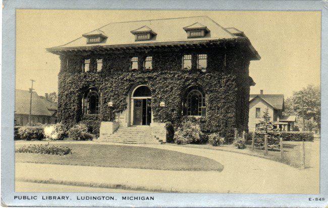 Ludington Public Library Historic