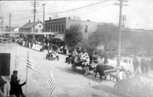 Downtown Scottville 1910