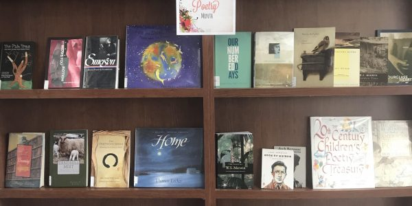 Poetry Book Display
